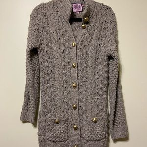 Juicy Couture button up cardigan